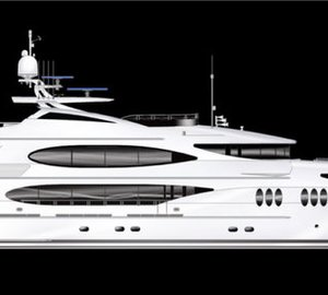 50m motor yacht Tsumat (ex T-057) by Trinity Yachts launched