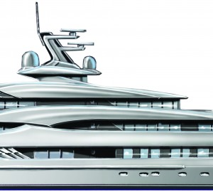 Andrew Moore designed motor yacht A SHIP CALLED SHE