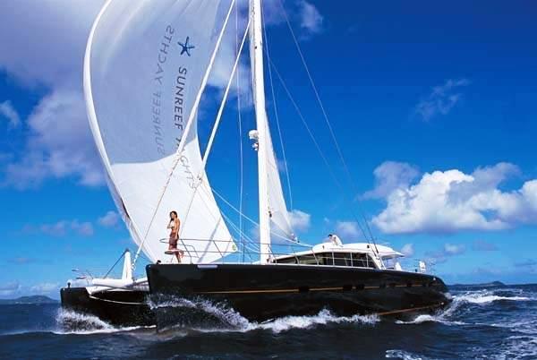 Charter catamaran MAITA'I - a Sunreef 74 yacht