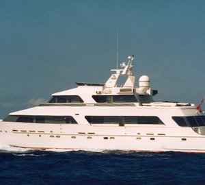 New Look for the Heesen 36.90m motor yacht No Comment (ex Tropic C)
