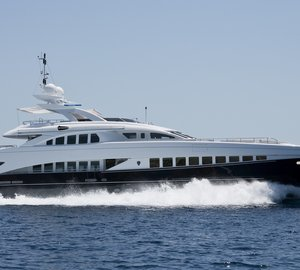 Heesen 44m Super Yacht Lady L (ex Project Zentric) Launched