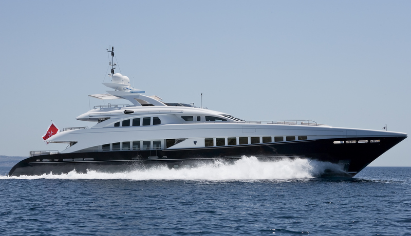 Sistership to super yacht Lady L - luxury motor yacht Petra