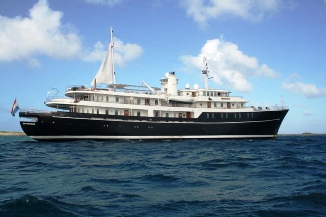 Impressive luxury superyacht SHERAKHAN