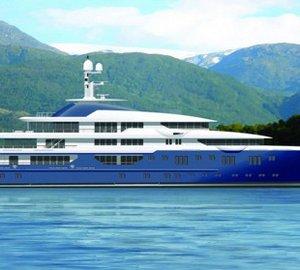 85m motor yacht NICKI transferred at Lurssen Yachts