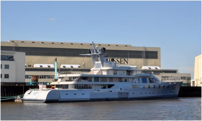 Lurssen Superyacht Pacific - Photo credit to Martin Groothuis