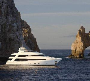 Luxury Motor Yacht Crescent 144 designed by Jonathan Quinn Barnett