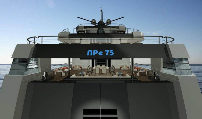 NPe75 Superyacht Exterior