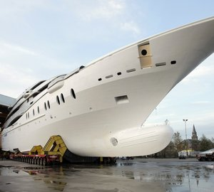 OceAnco 88.5m Motor Yacht Y707 Launched