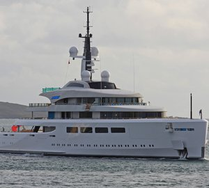 96m Superyacht VAVA II delivered – Largest UK built motor yacht sets sail for Caribbean on maiden Voyage