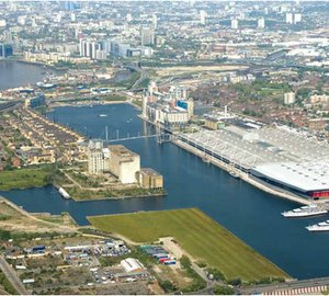 Royal Docks 2012 offering Superyacht Berths during the Olympic Games