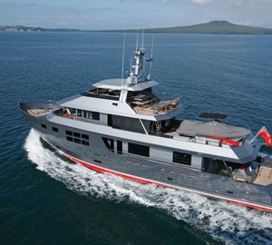 Popular charter Yacht VvS1 available in the Mediterranean after 5 years in the Pacific