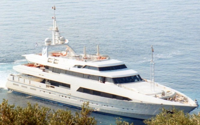 Superyacht Bad Girl - Ex Chamar by Brooke Marine in 1993 in Greece - Photography by Ferdinand Rogge