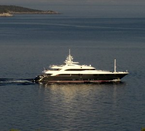 Photos of motor yachts O'Neiro, Quintessa (ex Anastasia VE) and Bad Girl (ex Chamar) by Ferdinand Rogge
