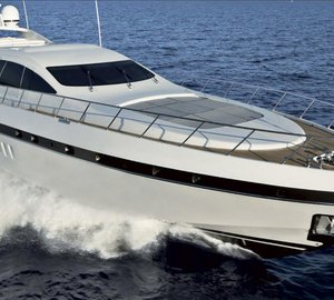 Overmarine Group at Dusseldorf Boat Show with Mangusta 92, Mangusta 130, Mangusta 165 and Mangusta 148 Oceano Yachts on display