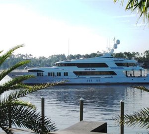 Caribbean luxury yacht charter special for the 49m Trinity motor yacht BLIND DATE