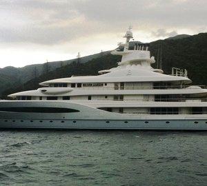 92m Superyacht Mayan Queen IV by Blohm + Voss in Marlborough, New Zealand