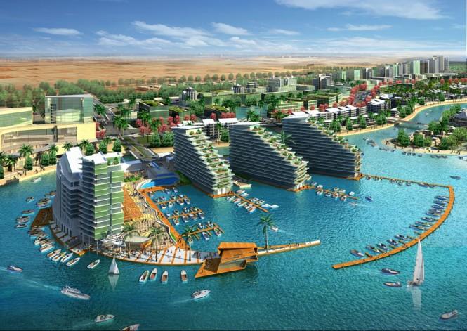 Al Bandar Marina in Abu Dhabi - the 7th Superyacht marina managed by Art Marine
