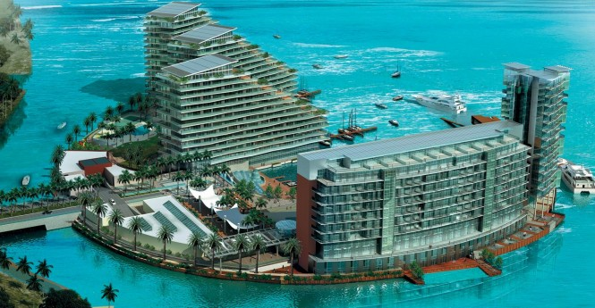 Al Bandar Superyacht Marina is one of the focal points for marine, leisure and family activities
