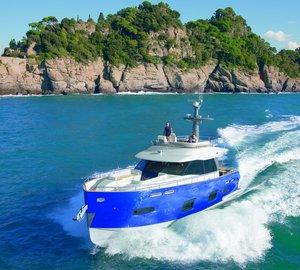 Azimut Magellano 50 Yacht officially receives the ´2011 UIM Environmental Award´