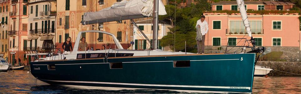Beneteau sailing yacht Oceanis Series 48