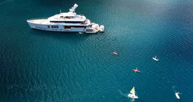 Charter Yacht BIG FISH has a fantastic selection of water sport toys and dive gear