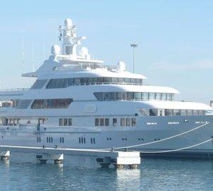 Varadero Valencia Paint & Refinishing Work on Lurssen 70m motor yacht Saint Nicolas (ex Project Nemo)