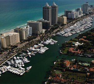 2012 Miami Boat Show with Stylish Yachts, Boating Tech Toys, Celebs and On-the-Water Adventure on display