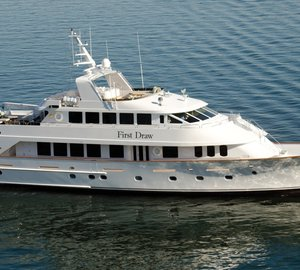 Christensen Shipyards refit the Custom 120' motor yacht First Draw (ex Cacique)