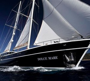 36m sailing yacht Dolce Mare launched by Neta Marine