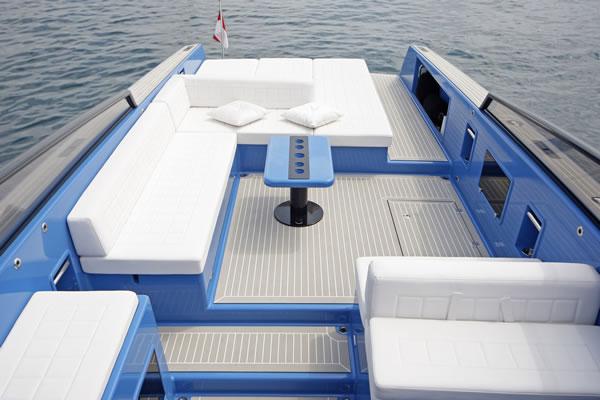 Vandutch 40 Yacht Tender Designed By Frank Mulder Yacht