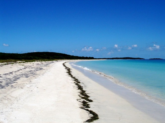 Pristine beaches of the Caribbean