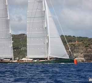 RORC CARIBBEAN 600: Superyacht Hetairos wins line honours