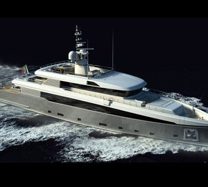 Rossi Navi 45m motor yacht Aslec (ex hull FR024) due to be launched in March 2012