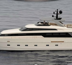 Americas Premiere of the new Sanlorenzo 28.60m Super Yacht SL94 at Miami Boat Show 2012