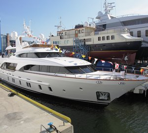 25th Benetti Tradition 105' motor yacht MIAMAA launched
