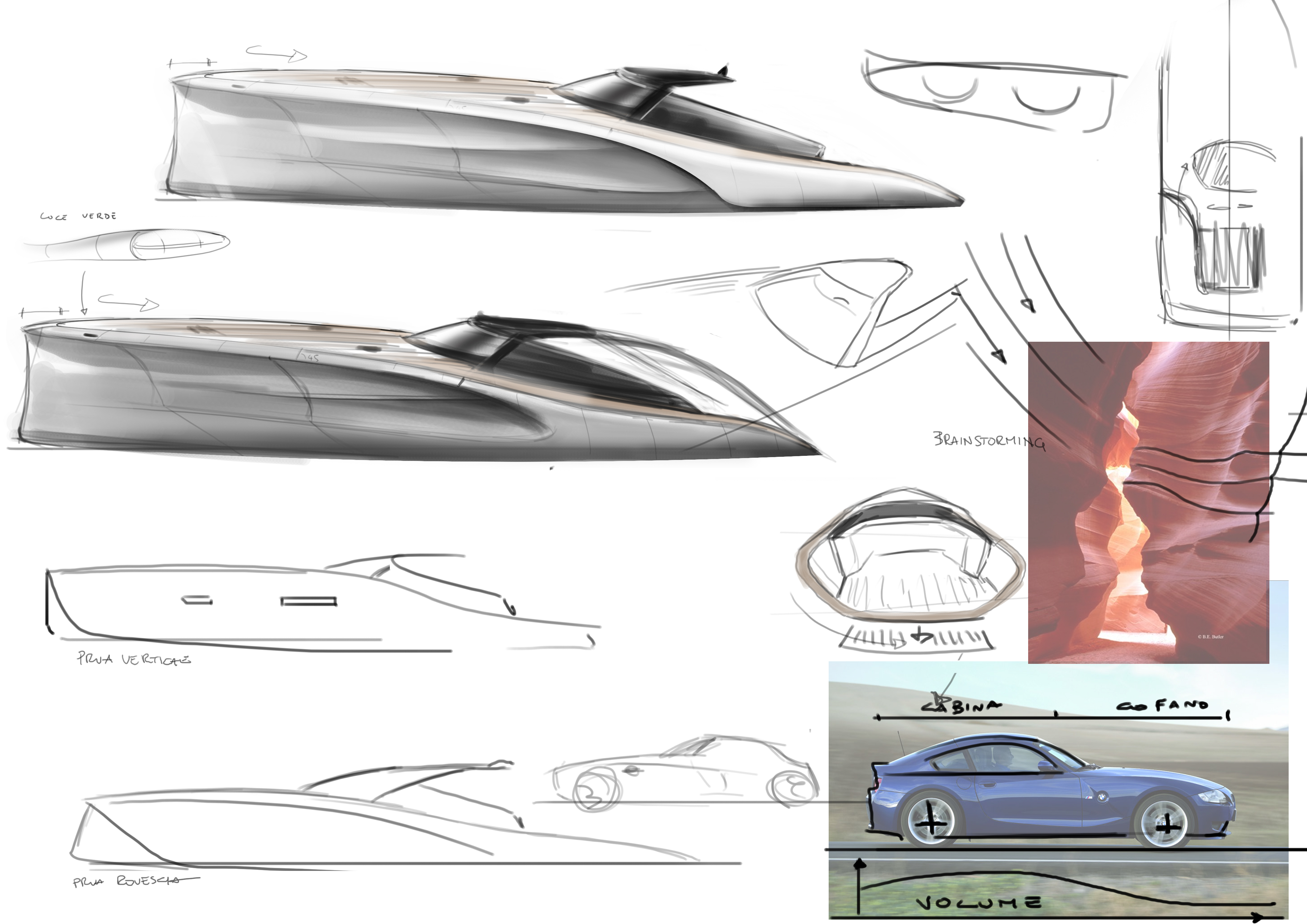 The 14m Yacht Nirvana Sketches Yacht Charter Amp Superyacht News