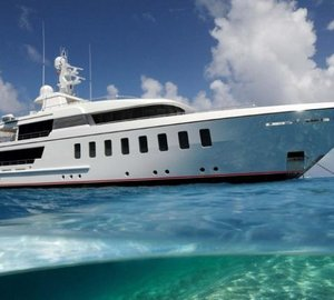 45m Superyacht Helix: First Feadship to arrive in Asia this Spring