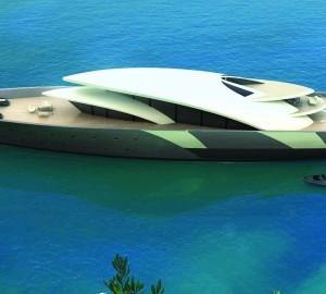 98m Motor Yacht Concept by Sigmund Yacht Design