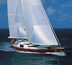 Alloy 48.5m charter yacht Georgia - Winner of the first race in 2012 Millennium Cup