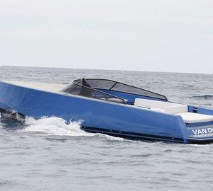 VanDutch 40 Yacht Tender designed by Frank Mulder
