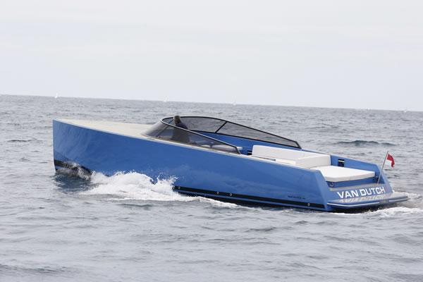 The VanDutch 40 Yacht Tender