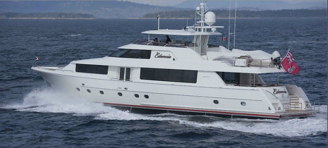 Westport 112 luxury yacht Estancia - a sistership to the super yacht Ubiquitous (ex hull 7745)