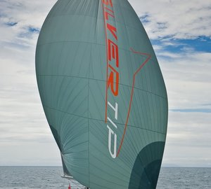 2012 NZ Millennium Cup won by the 34m Superyacht Silvertip by Yachting Developments