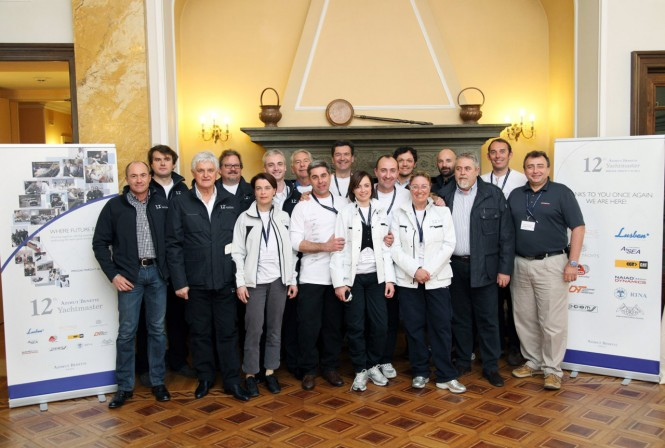 12th Azimut Benetti Yachtmaster dedicated to captains of Azimut Benetti's fleet of superyachts over 85ft