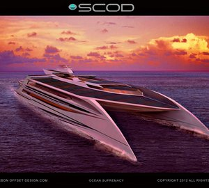 The 42m superyacht Ocean Supremacy by SCOD - The largest and Greenest among the 10 fastest Superyachts in the world.