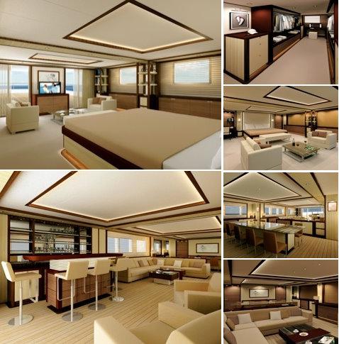 53.55m Superyacht Touya Interior