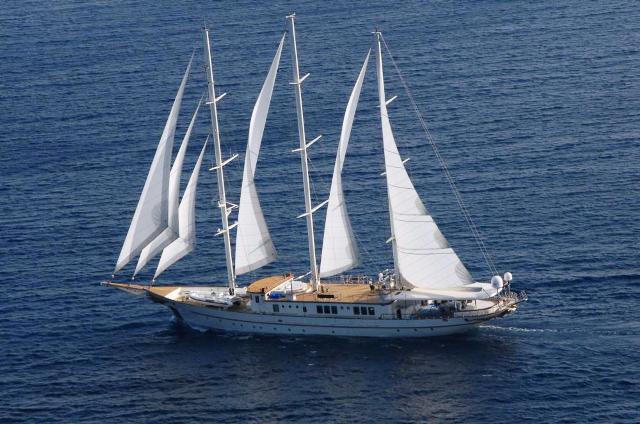 57m sailing yacht MONTIGNE