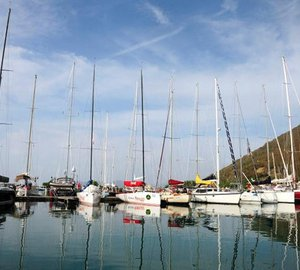 BVI Spring Regatta & Sailing Festival 2012: The first day´s racing called off