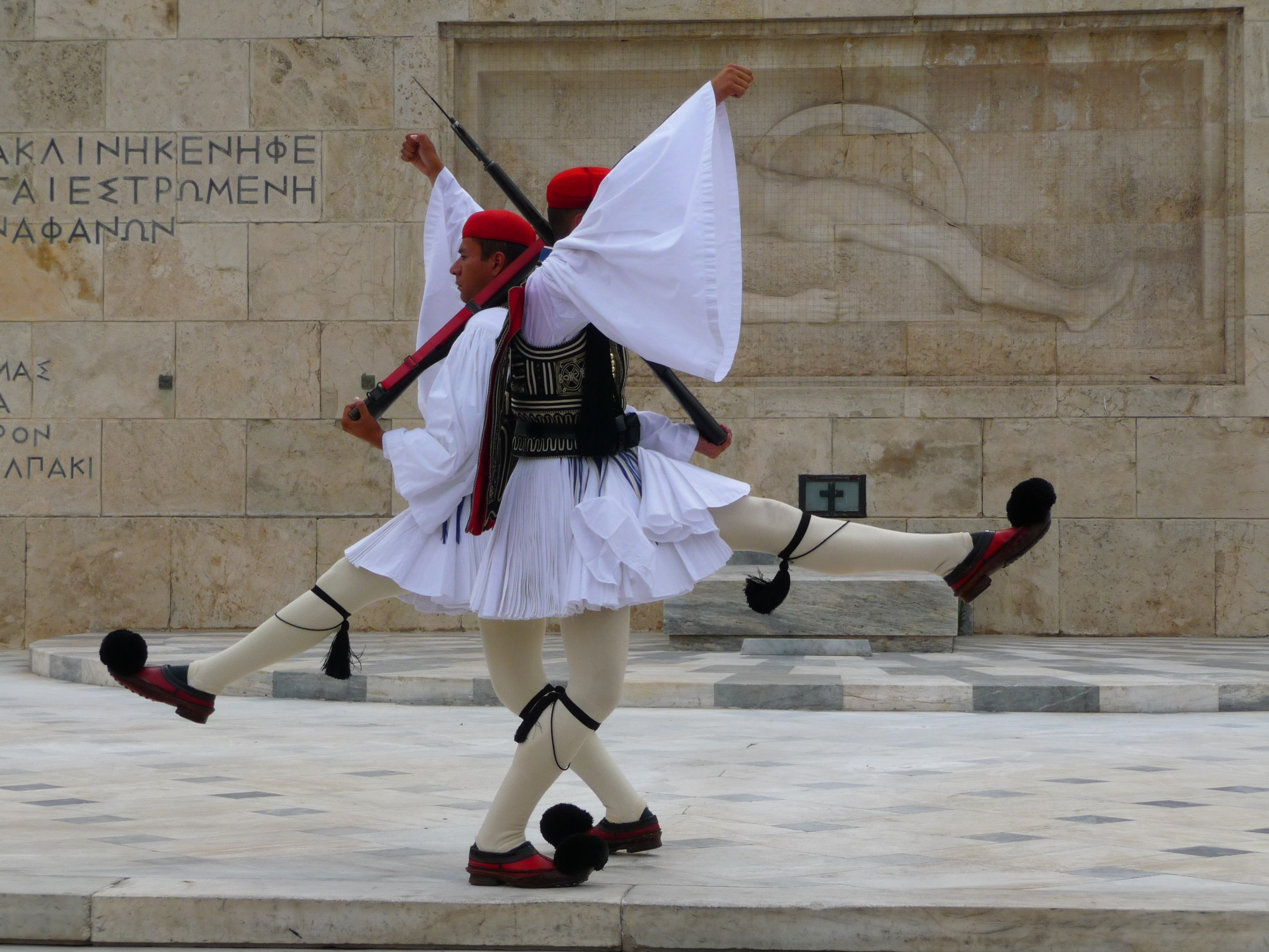 greek presidential guard change