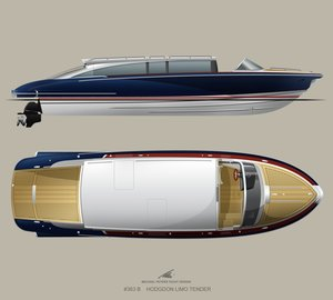 Four new custom superyacht tender contracts for Hodgdon Yachts